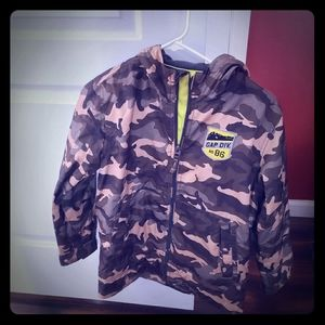 Boys L Gap Camo jackets